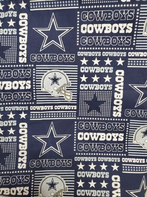 Dallas Cowboys Fabric 100% Cotton 1 yard for Sale in Honolulu, HI