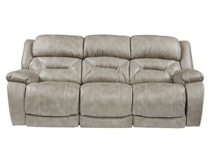 Taupe couch - electric recline, phone charging, 2 years old for Sale in Arlington, TX