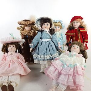 Lot of 6 Collectible Vintage Doll (1022507) for Sale in South San Francisco, CA