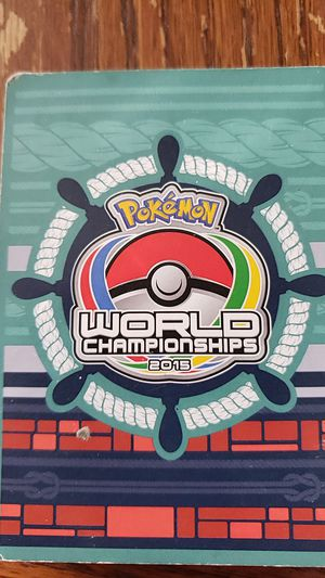 Pokemon, Pokemon World Championship 2010, 2015 and Yu-gi-lOh collection cards for Sale in Azalea Park, FL