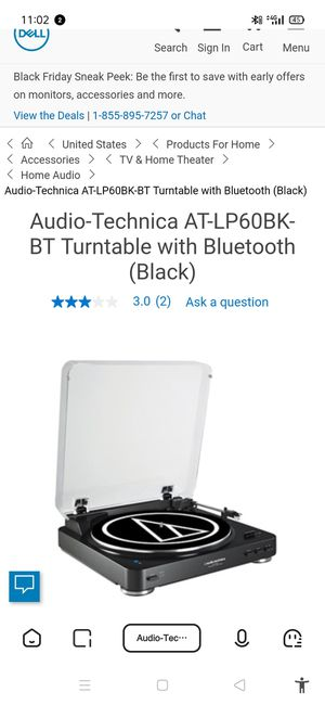 audio tech Bluetooth turntable for Sale in Revere, MA