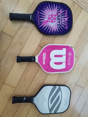 Used pickleball paddles for Sale in Carlsbad, CA
