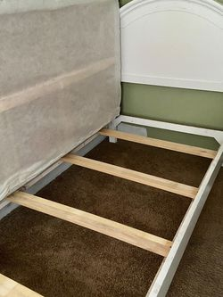 Bed Frame With FREE BOX SPRING for Sale in Tualatin,  OR