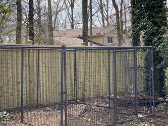 Steel Dog Pen for Sale in Lawrenceville,  GA