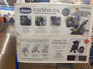 chicco cortina cx travel system(infant car seat and base) for Sale in Portland, OR
