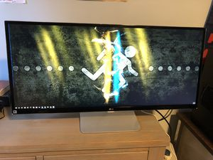 34'' Class 21:9 UltraWide® WQHD IPS LED Monitor (34'' Diagonal) for Sale in Everett, MA