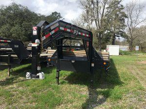 40FT Flatbed Gooseneck trailer 2018 for Sale in Gonzales, LA