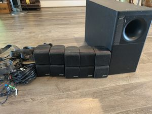 Bose Acoustimass 10 series home theater speaker system for Sale in Ashburn, VA