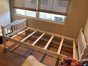 two twin beds or you can make it in to bunk beds for Sale in Irvine, CA