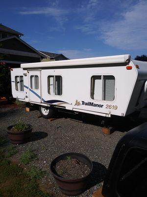 Trailmanor pop up trailer for Sale in Granite Falls, WA