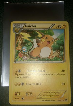 Raichu Pokemon Card for Sale in Taylors, SC
