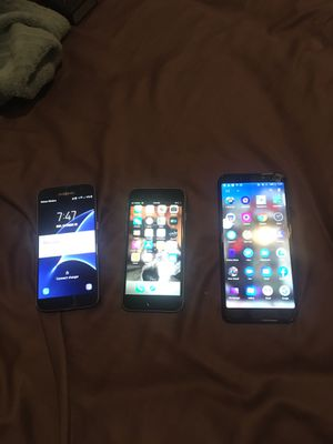 iPhone 6s & Samsung Galaxy s7 & Acatel 7 for Sale in Oakland, CA