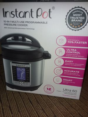 Instant Pot Ultra 60 **NEW** for Sale in Gaithersburg, MD