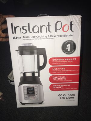 Insta pot multi-use cooking & Beverage Blender for Sale in Decatur, GA