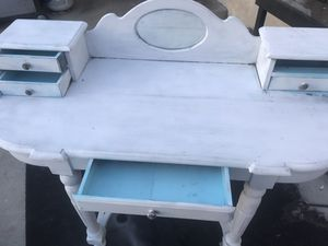 ShabbyChic Painted Antique Vanity for Sale in Huntington Beach, CA