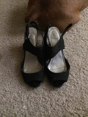 Black high heels size 9 for Sale in Imperial, MO