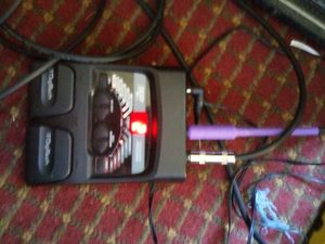 Digitech rp 50 multieffect pedal. for Sale in Indianapolis, IN