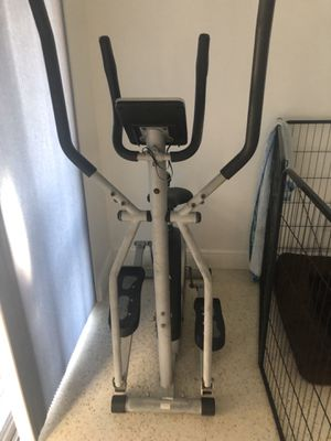Elliptical exercise bike on sale! for Sale in Pembroke Pines, FL