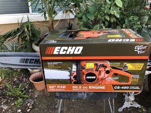 "ECHO CS-490 20"" GAS CHAINSAW for Sale in Avondale, AZ"