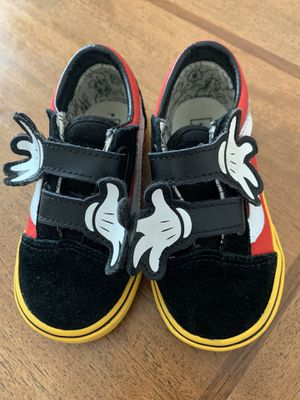 Toddler size 7 Mickey Mouse edition Vans for Sale in Virginia Beach, VA