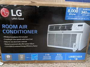 Brand New! LG air conditioner with wall mount. for Sale in Duvall, WA