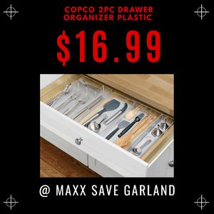 Copco 2pc drawer plastic for Sale in Mesquite, TX