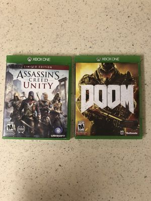 Xbox one games for Sale in Gaithersburg, MD