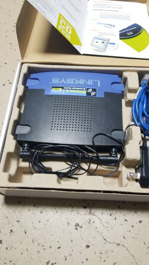 Linksys wireless-G broadband router for Sale in Las Cruces, NM