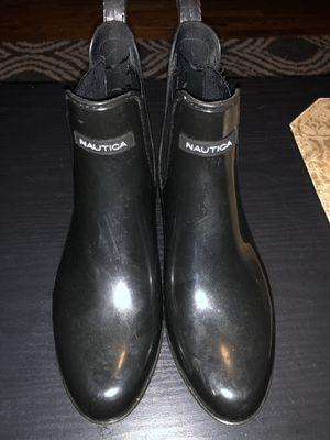 Nautica women's ankle rain boots for Sale in Nashville, TN