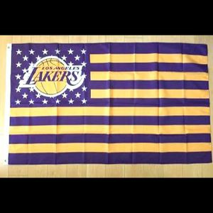 Lakers flag 3x5ft new for Sale in Victorville, CA