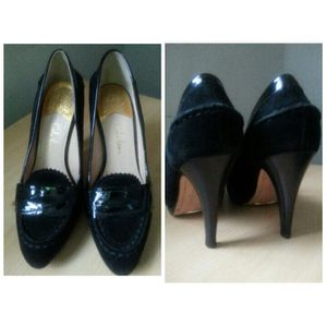 Black suede and patent leather Cole Hahn shoes for Sale in Detroit, MI