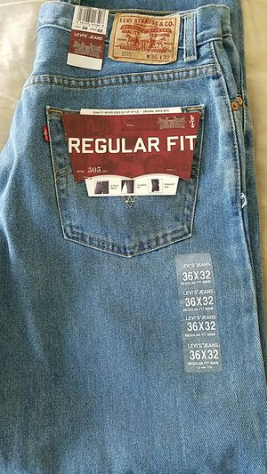 New Men's Levi's Jeans 36x32 for Sale in Vienna, VA