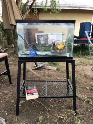 Fish tank and equipment for Sale in Sanger, CA