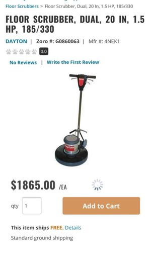 Brand new floor buffer or scrubber for Sale in East Los Angeles, CA