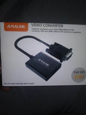 Vga to hdmi adapter for Sale in Phoenix, AZ