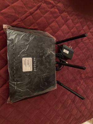 NETGEAR WIRELESS AC1750 model R6400 for Sale in Manassas, VA