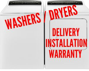 Washers & Dryers - Delivery/Installation/Warranty for Sale in Mount Vernon, OH
