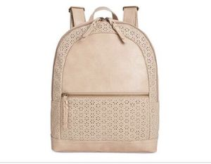 NEW Style & Co Women's Airyell Daisy Perforated Backpack, Beige for Sale in Los Angeles, CA
