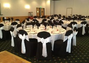217 White Satin Chair Sashes for Sale in Bellevue, WA