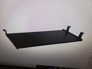 3 Under desk keyboard drawer/Mouse Shelf, 28W x 12 D black! for Sale in Miami, FL