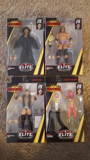 WWE Elite Wrestlemania figure set. for Sale in Alameda, CA