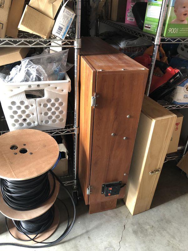 Old School Sports Basketball Hoop Cabinet Foldable
