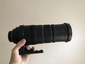 Sigma 150-500 mm lense for nikon dsl camera for Sale in Aliso Viejo, CA