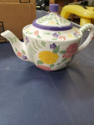Glass hand painted tea pot for Sale in Brookfield, IL