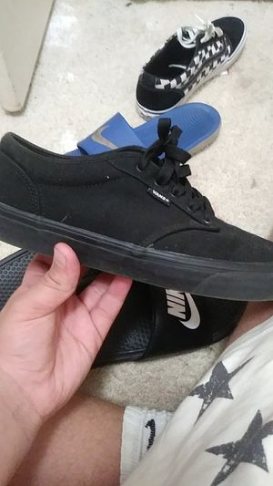 Vans all black for Sale in South Bend, IN