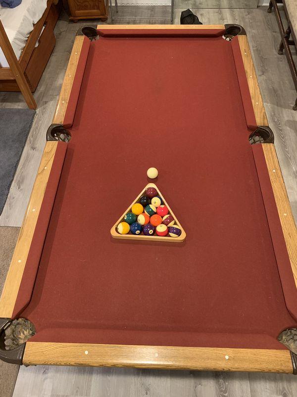 Real Slate Pool Table