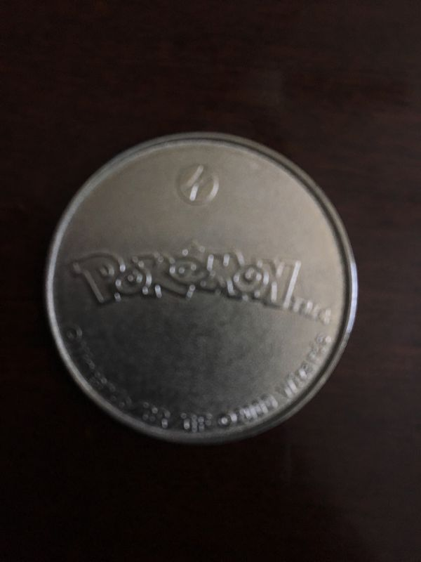 Pokemon Pikachu coin