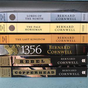 Lot Of 6 Bernard Cornwell Novels for Sale in Port St. Lucie, FL