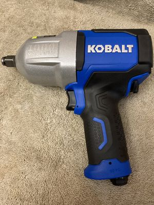 Kobalt 0.5-in 1000-ft Air Impact Wrench for Sale in Highland, CA