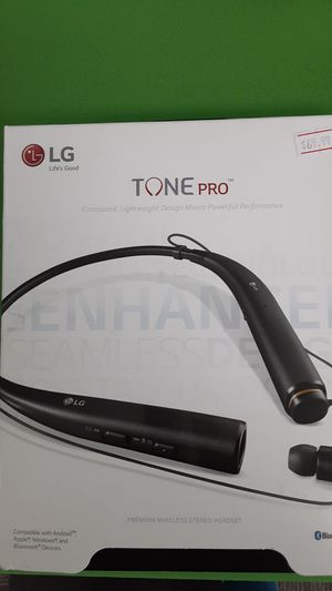 LG tone pro Bluetooth headphones for Sale in San Angelo, TX